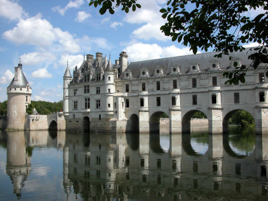 Photo du Château de Chenonceau sur le Cher