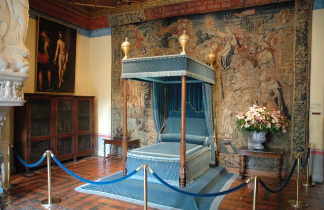 Photo de la chambre Bleue du Château de Chenonceau