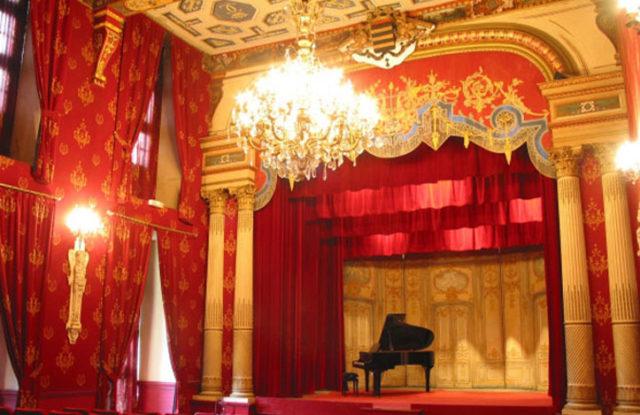 Photo du théâtre du Château de Brissac