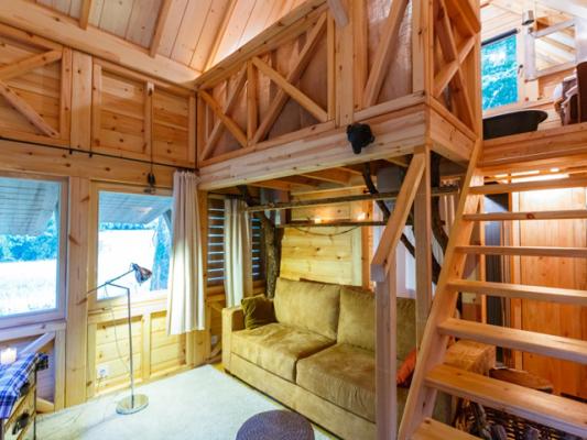 cabane lodge des Briottières