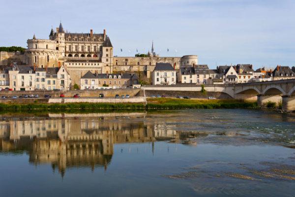 Carte des châteaux de la Loire