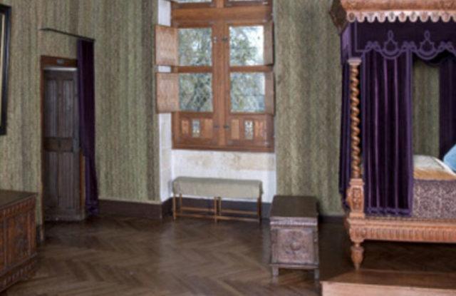 Chambre Renaissance Château Azay le Rideau