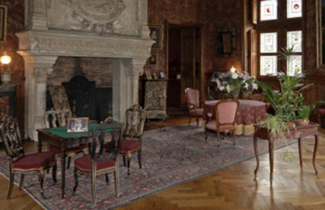 Salon Biencourt Chateau Azay le Rideau
