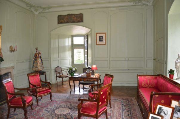 Salon et cabinet de travail du château de Villandry